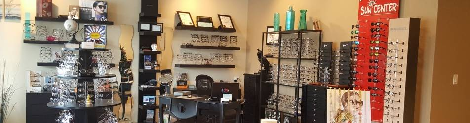 Optical section in Orange Eye Clinic